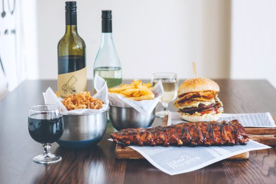 Ribs  Burgers - Food Delivery Shop
