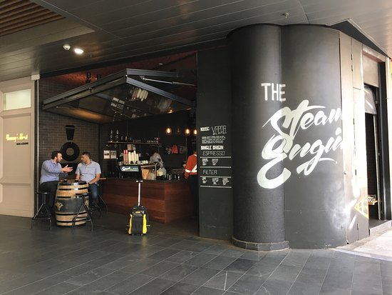 The Steam Engine - Food Delivery Shop