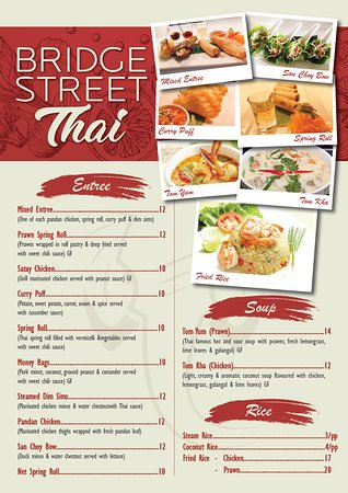 Bridge Street Thai - Food Delivery Shop
