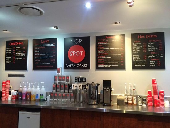 Top Spot Cafe - Food Delivery Shop