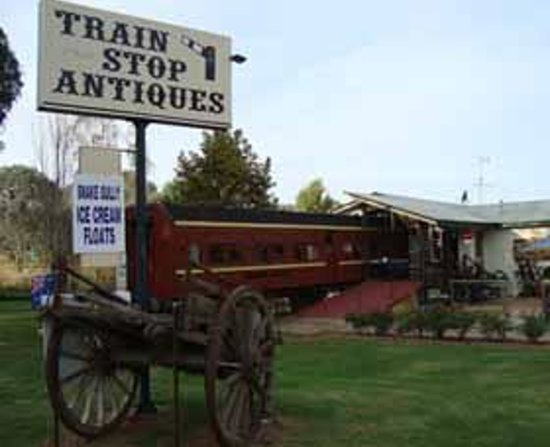 Train Stop Antiques - Food Delivery Shop