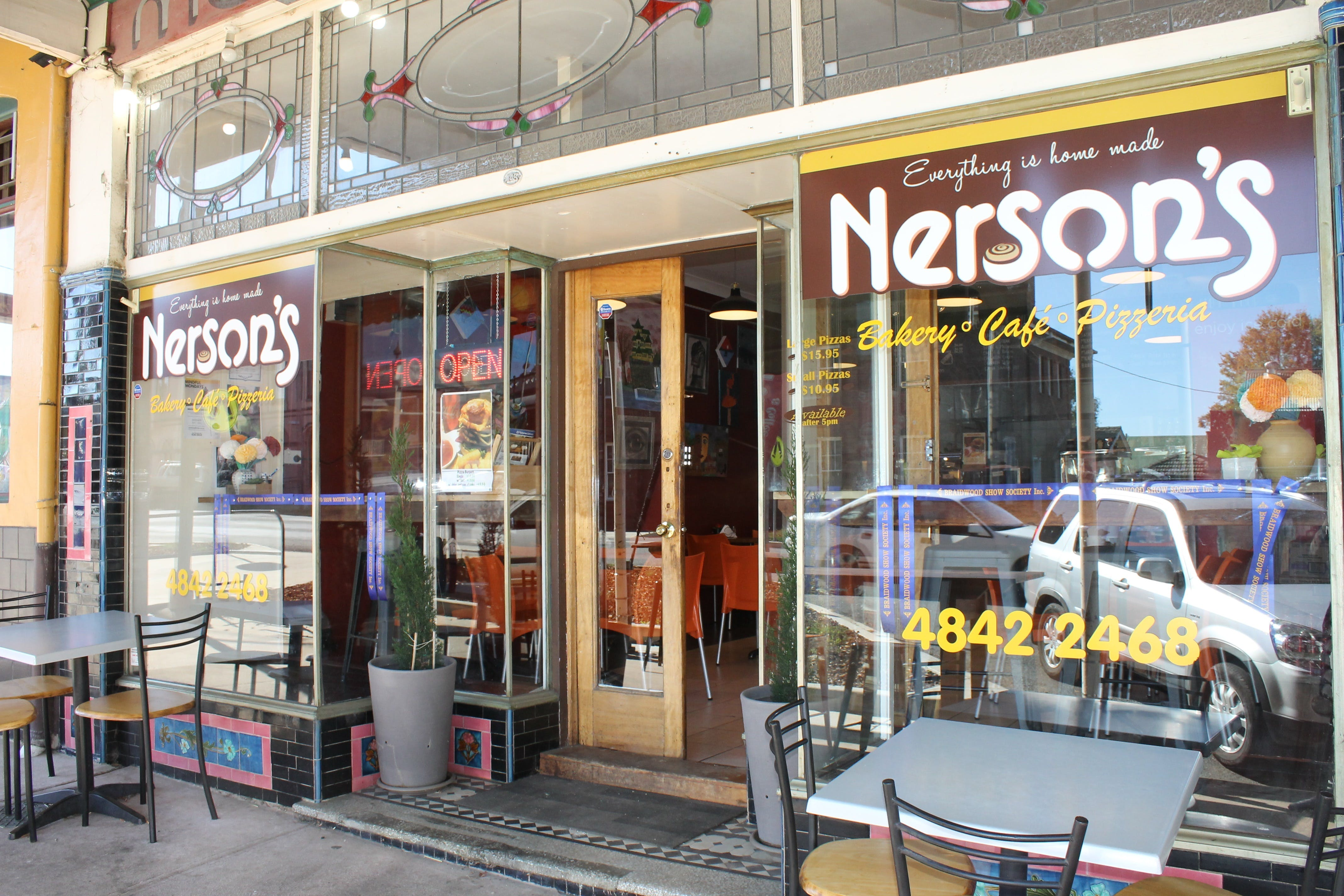Nerson's Braidwood - Food Delivery Shop