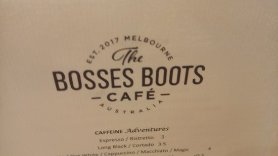 The Bosses Boots Cafe - Food Delivery Shop
